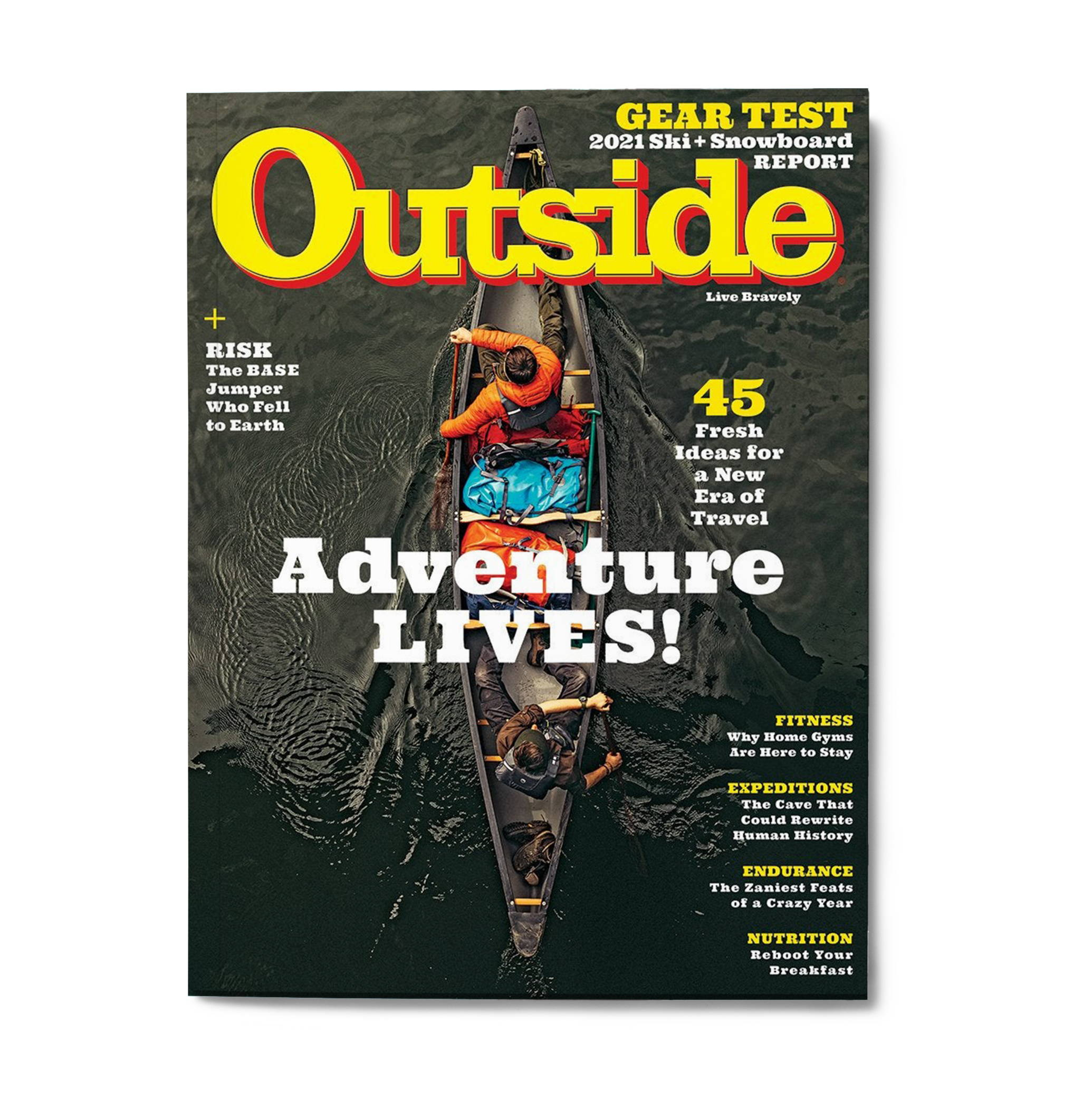 Cover of Outside Magazine issue