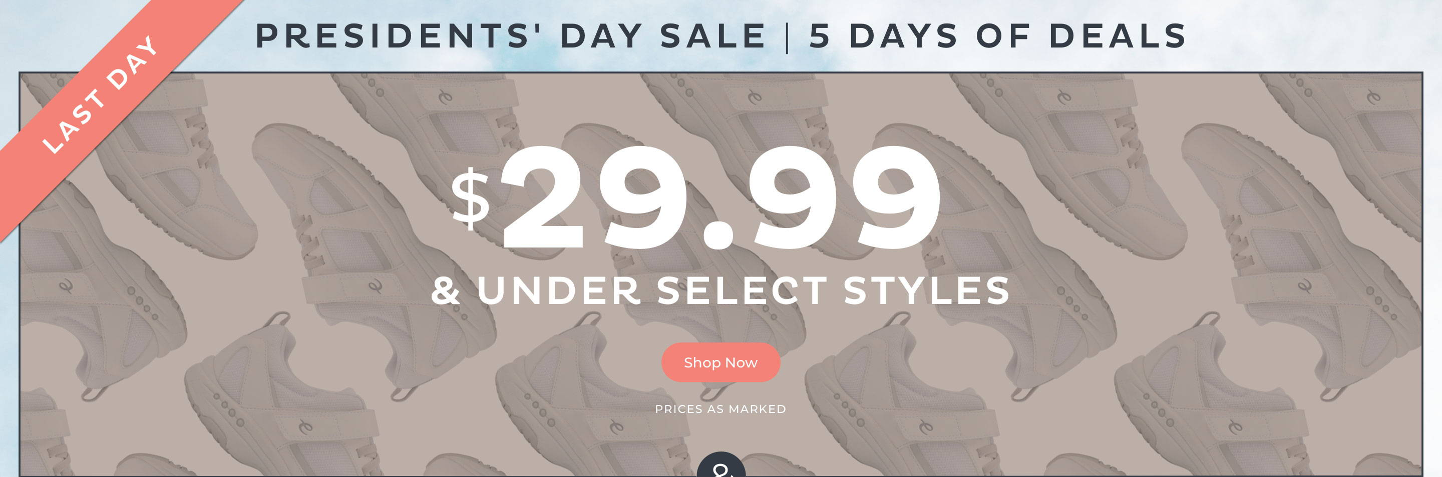 $29.99 & Under Select Styles