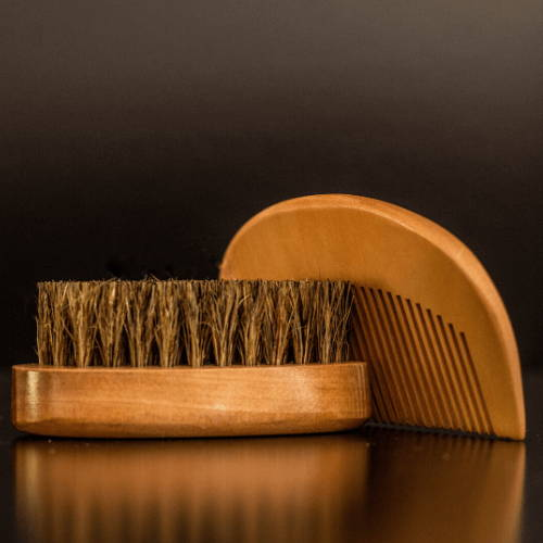 Naked Armor's Bamboo Beard Brush