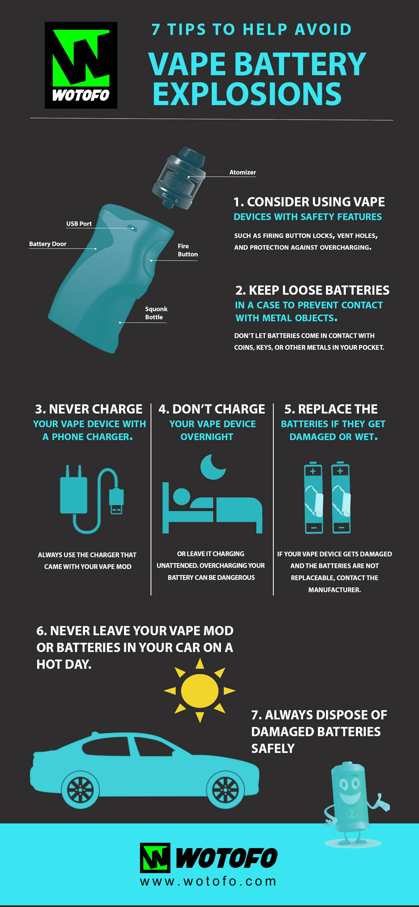 7 Tips To Avoid Vape Battery Explosions