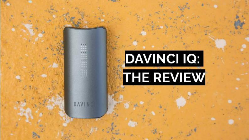 Davinci IQ Portable Dry Herb Vaporizer DopeBoo Review