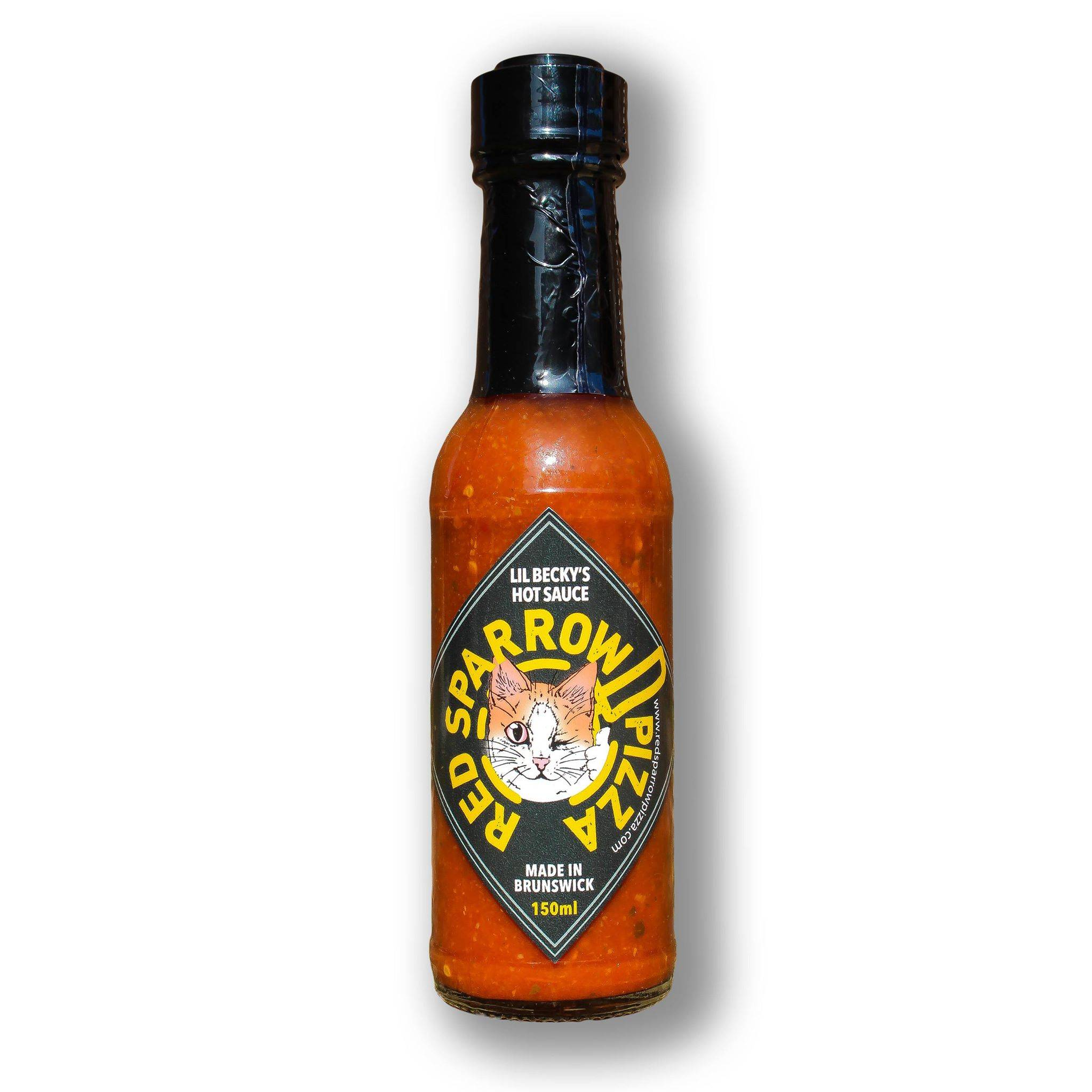 Lil Becky + Red Sparrow collaborative hot sauce