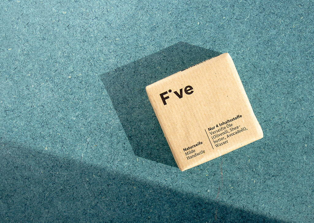FIVE Naturseife – Handseife mit Olive und Sheabutter – Five Skincare