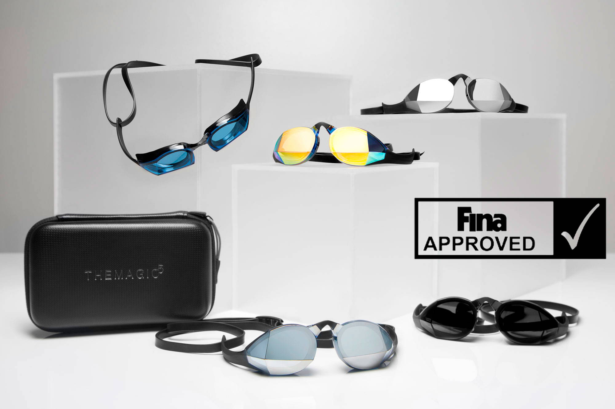 THEMAGIC5 swimming goggle collection