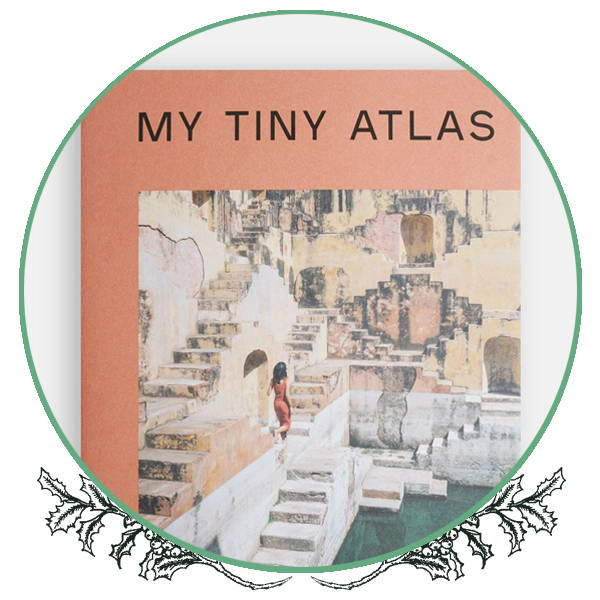 The travel book My Tiny Atlas by Emily Nathan