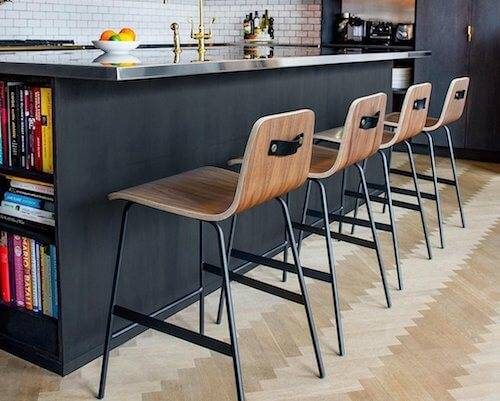 Gus Lecture Bar Stool