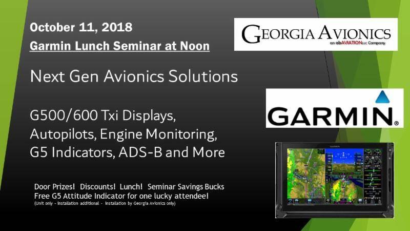 Garmin Seminar – GAAvionics