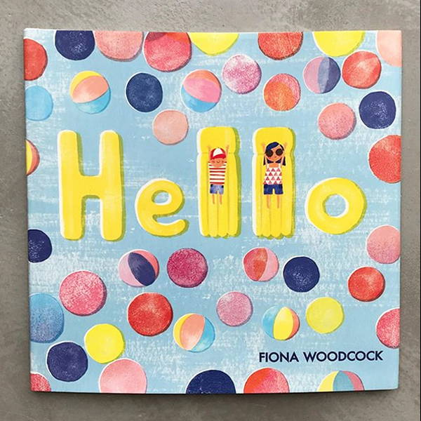The Book Cover of Hello by Fiona Woodcock