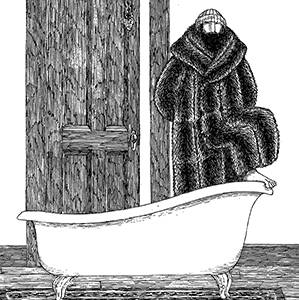 Edward Gorey's To You From Me Notecard
