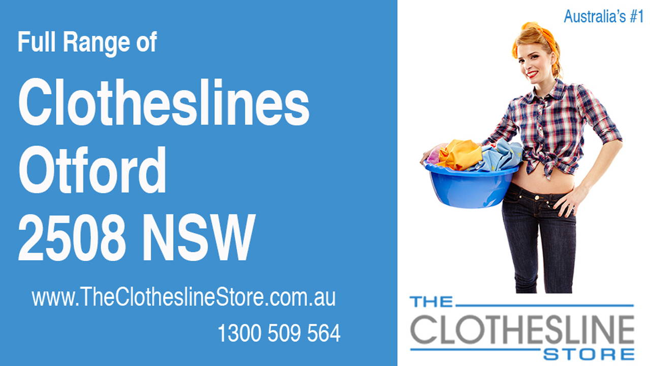 New Clotheslines in Otford 2508 NSW