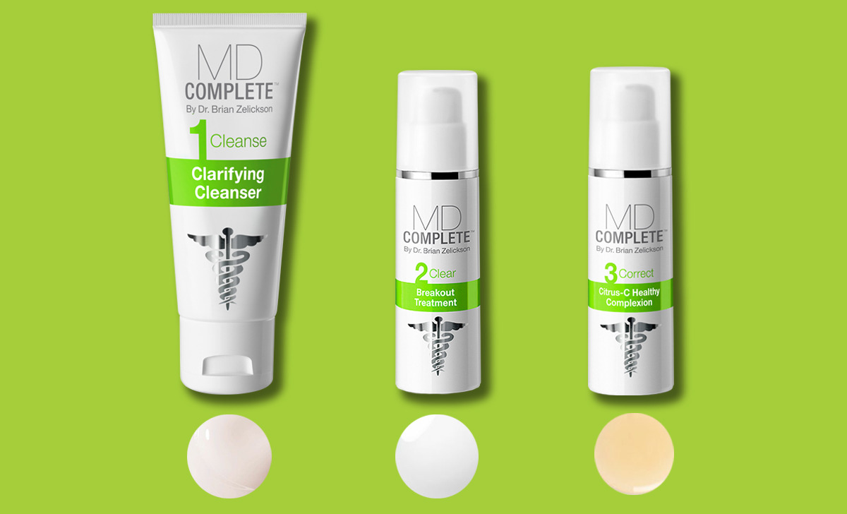 3-Step Professional Acne Clearing System