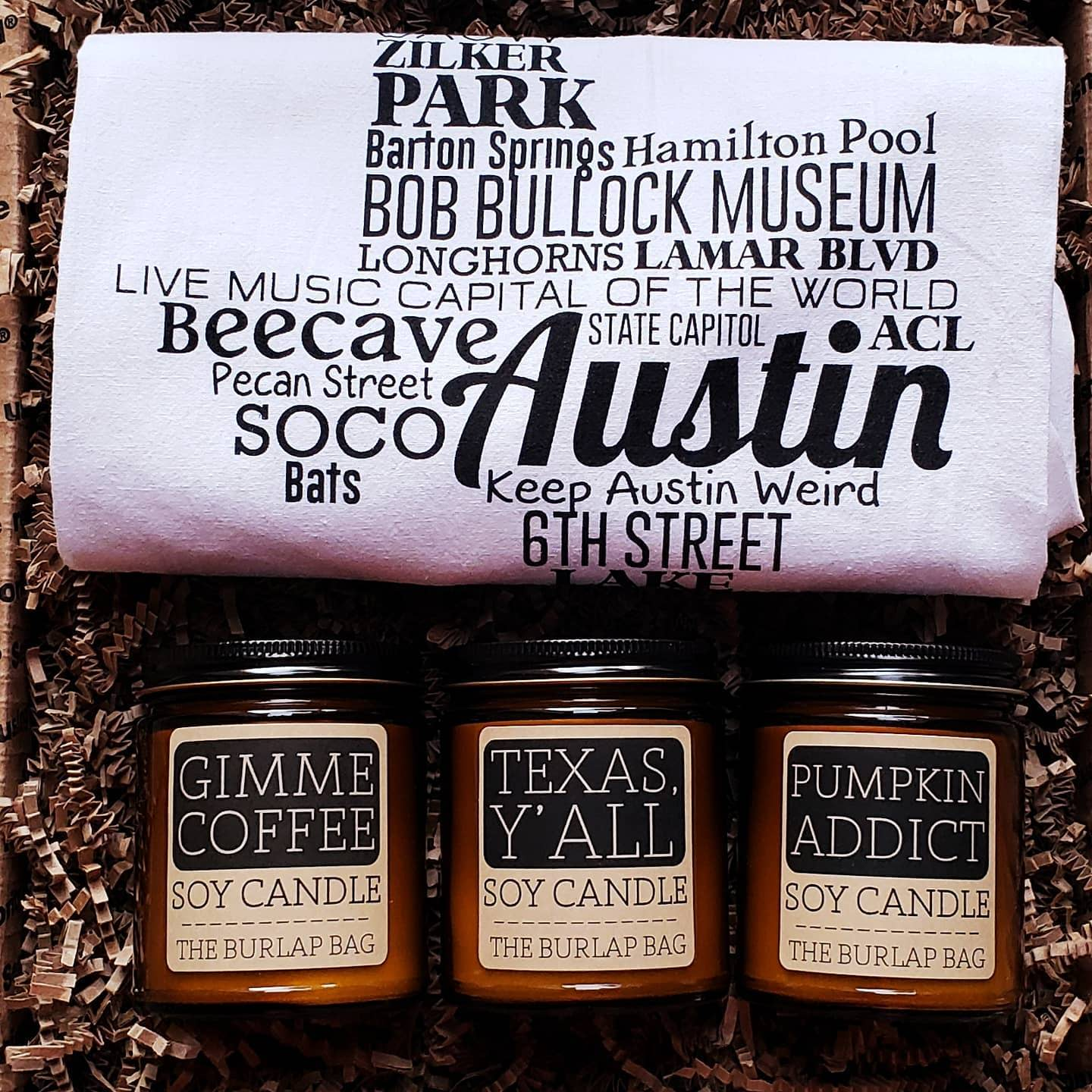 We have Texas-inspired gifts, y'all♡ Learn more about the Austin-Inspired Housewarming at https://bit.ly/3dUbVu9 ♡