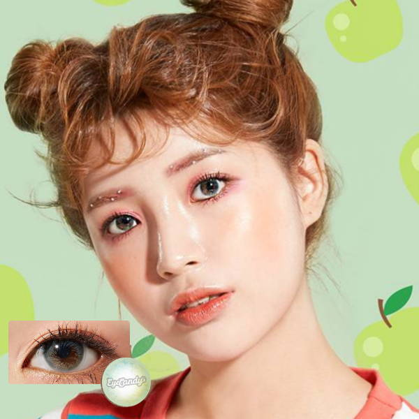 SHOP Lenstown Juicy Filter Green Color Contacts