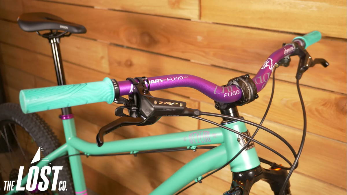 chromag fu40 handlebars chromag stylus daydreamer quadiem trp brake the lost co mtb mountain bike
