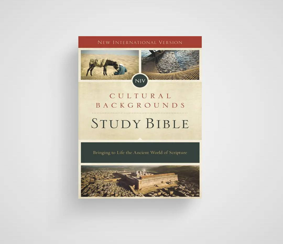 NIV, Cultural Backgrounds Study Bible, Red Letter Edition, Hardcover