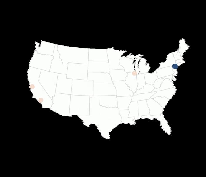 Bureau Service Areas