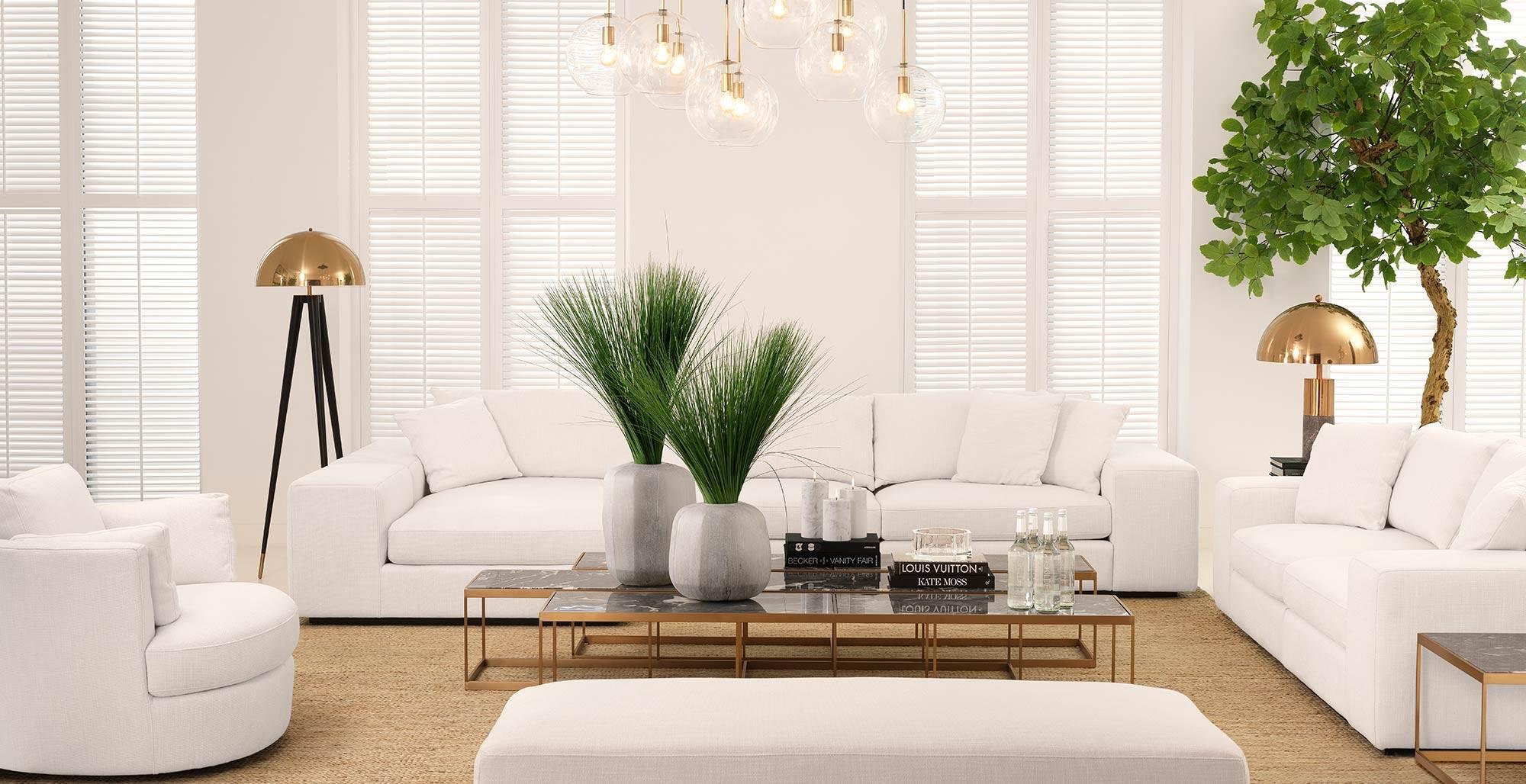 Eichholtz Furniture - Luxury Living Room Scheme - LuxDeco.com