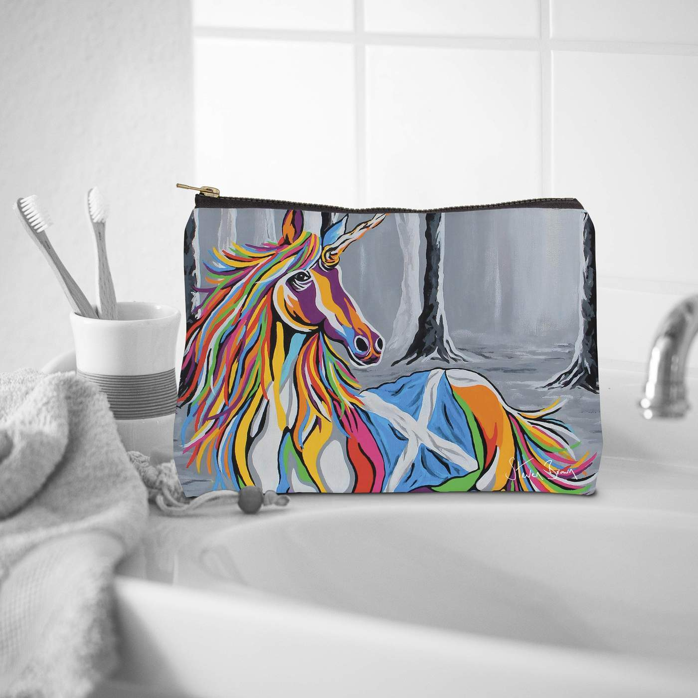 Steven Brown Wash Bag- Travel collection