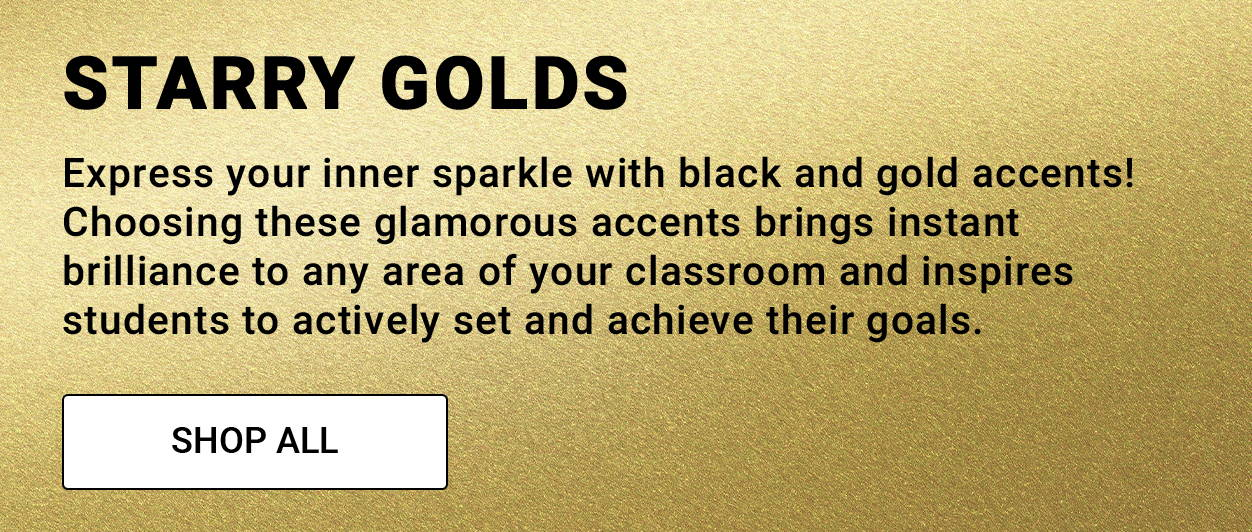 Starry Gold Classroom Theme