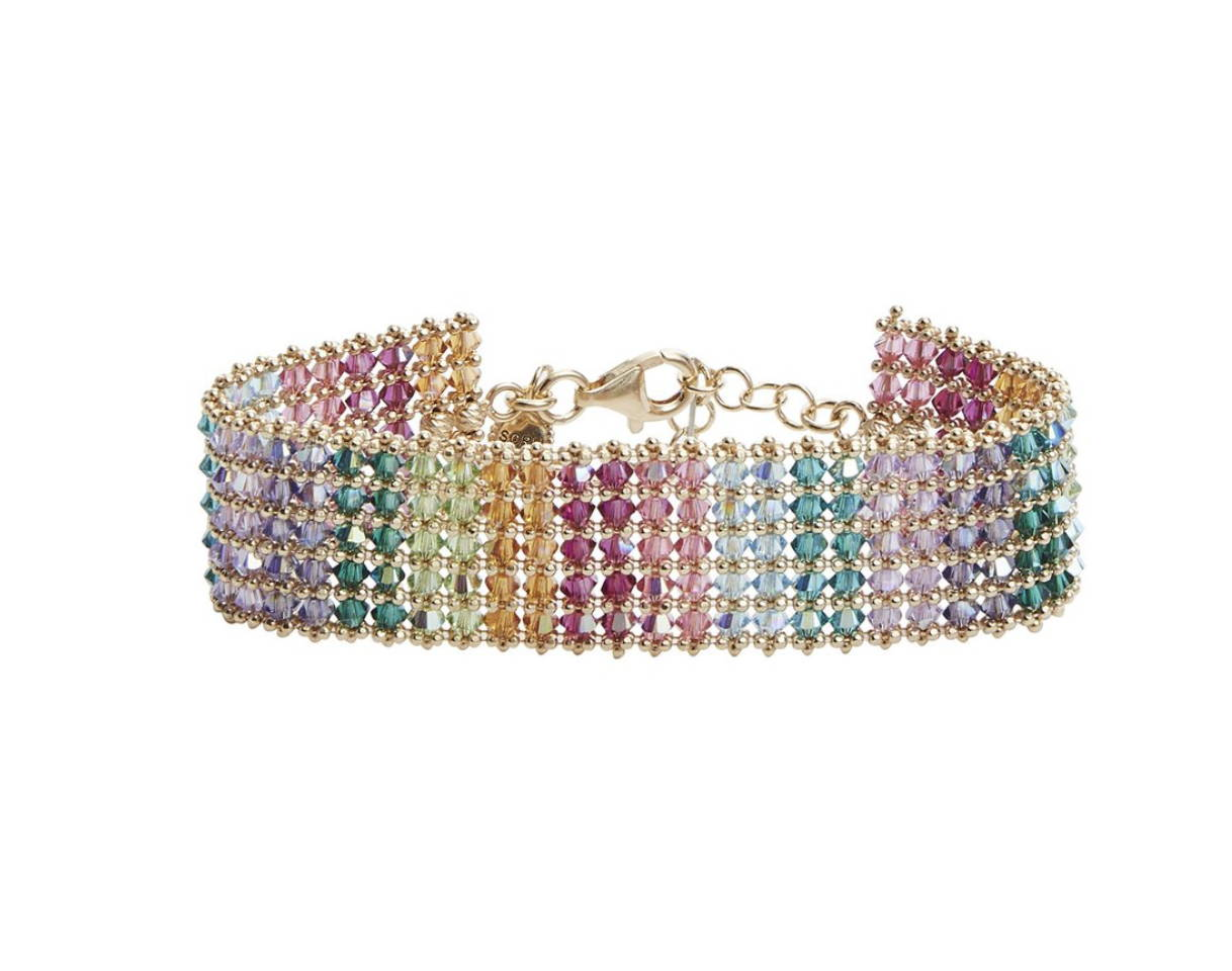 SORU JEWELLERY RAINBOW HOLLY BRACELET