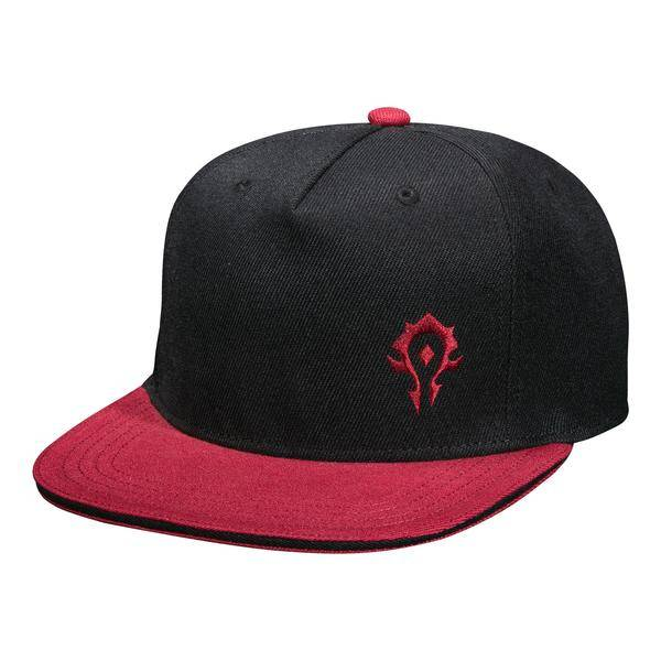 Product photo of a World Of Warcraft Team Horde Snap Back Hat