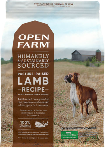 Pasture-Raised Lamb Dry Dog Food