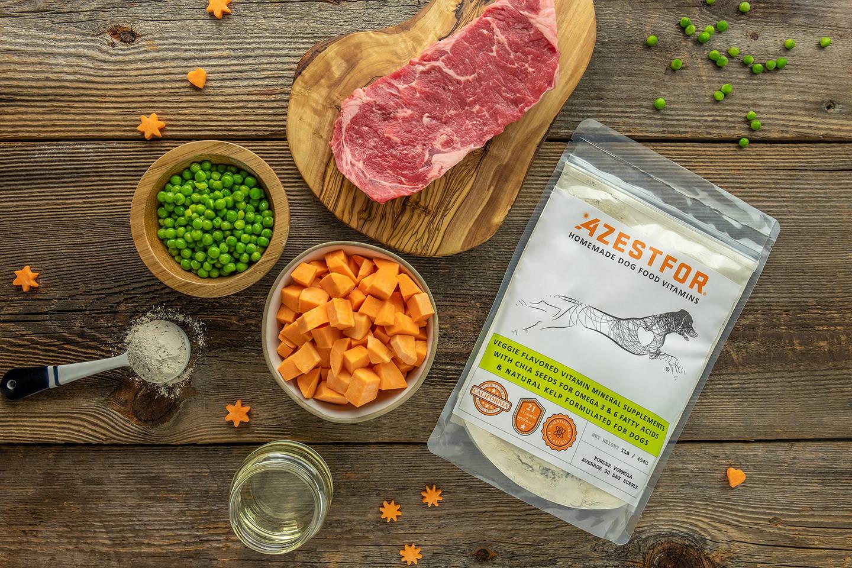 Ingredients Beef sweet potatoes peas how to make homemade dog food