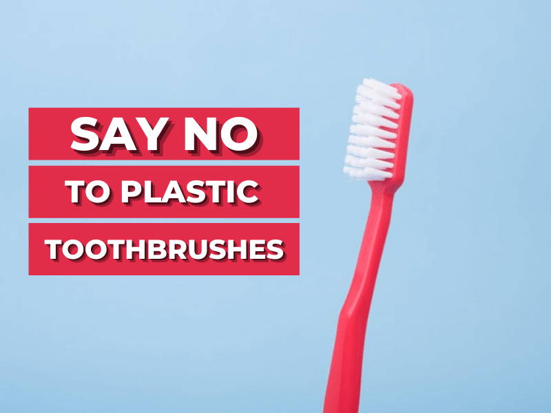 Say No To Plastic Toothbrushes