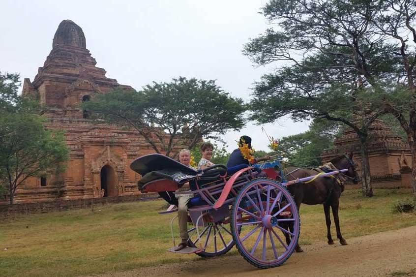 Travelbay Myanmar Tours - Customer Reviews - Elizabeth Lynch - Bagan