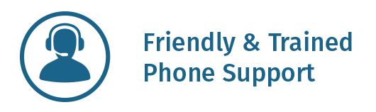 Friendly and Trained Phone Support