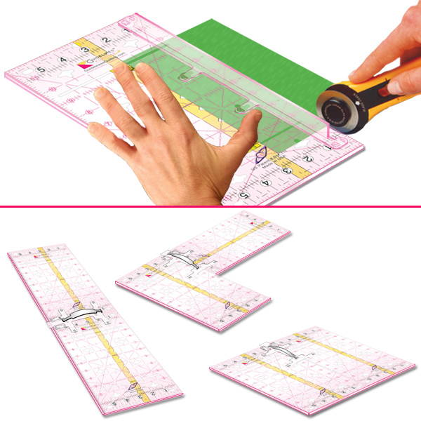 Guidelines Rulers by Guidelines4Quilting