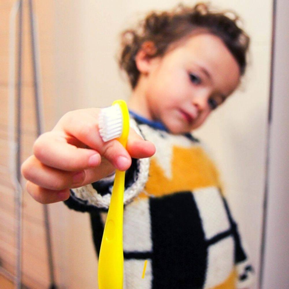 La brosse a dents ecologique - Enfant - Caliquo