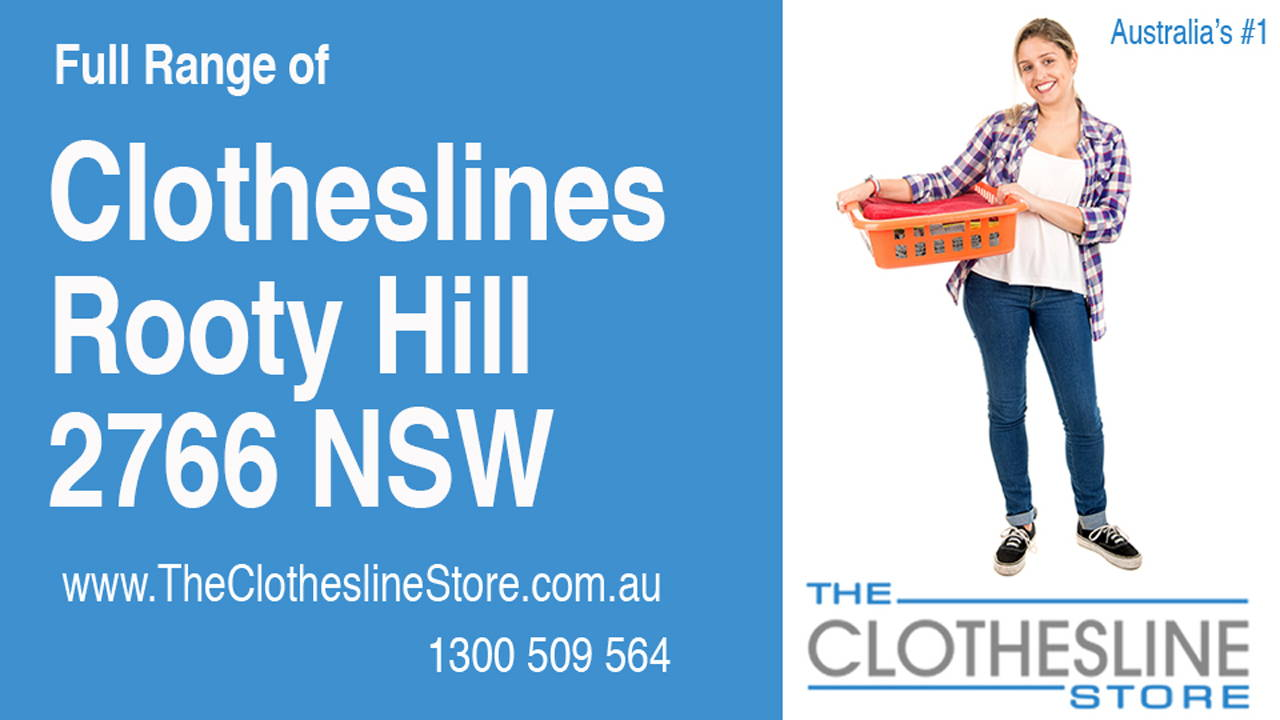 New Clotheslines in Rooty Hill 2766 NSW