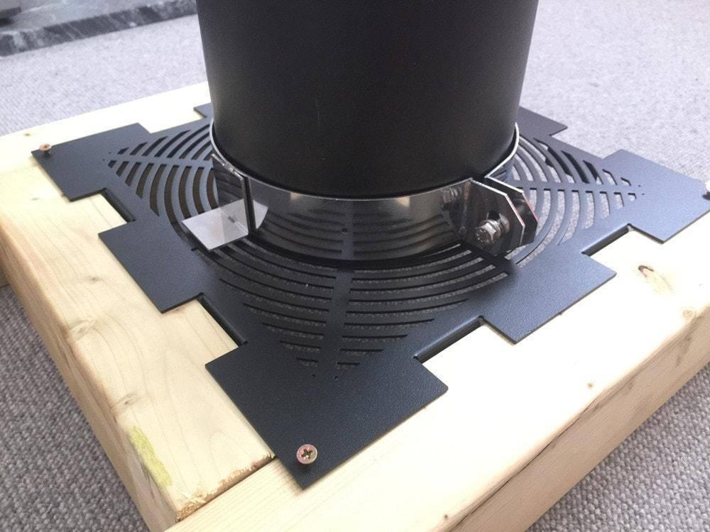 ventilated firestop unit