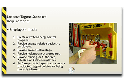 Lockout Tagout PowerPoint Introduction