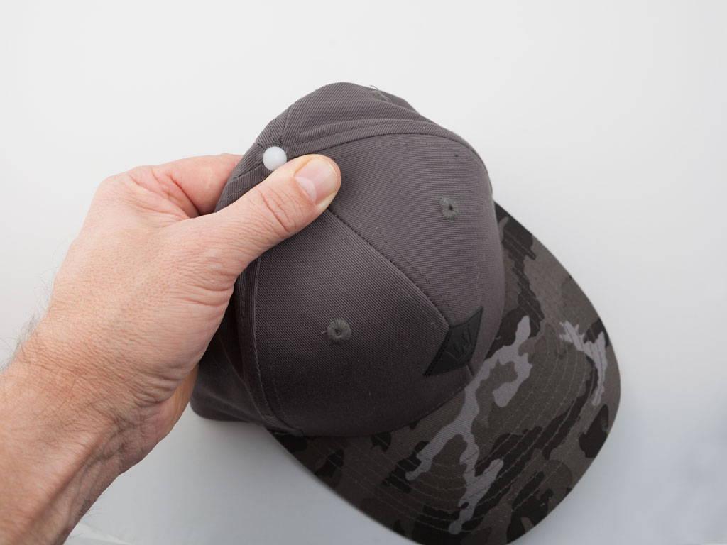 Montering af dupper på Cap On kasket - step 1