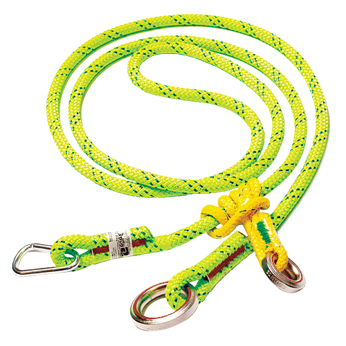 image of Notch KMIII Wear Safe™ Adjustable Friction Saver with Accessory Carabiner