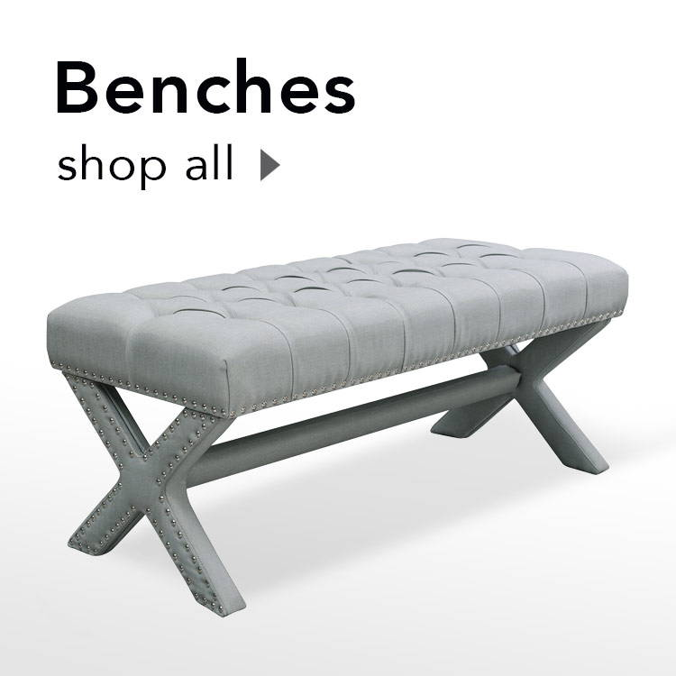 benches at shopinspiredhome.com