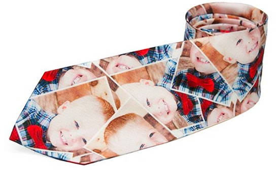 Custom Photo Ties