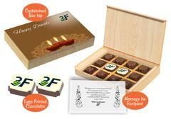 Diwali Gift Ideas for Clients (12 Chocolates - 100 Box)