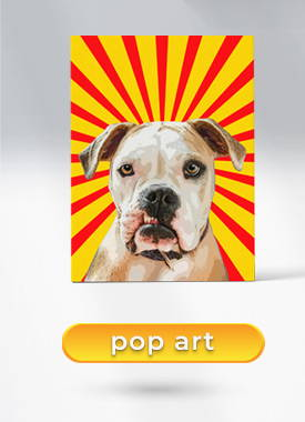 pet pop art collection example