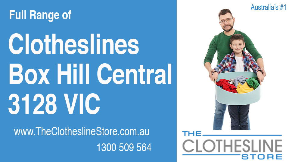 New Clotheslines in Box Hill Central Victoria 3128