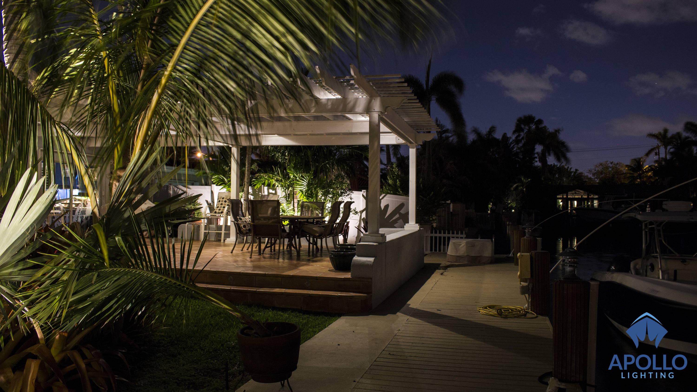 Landscape Lighting Fort Lauderdale Underwater Dock