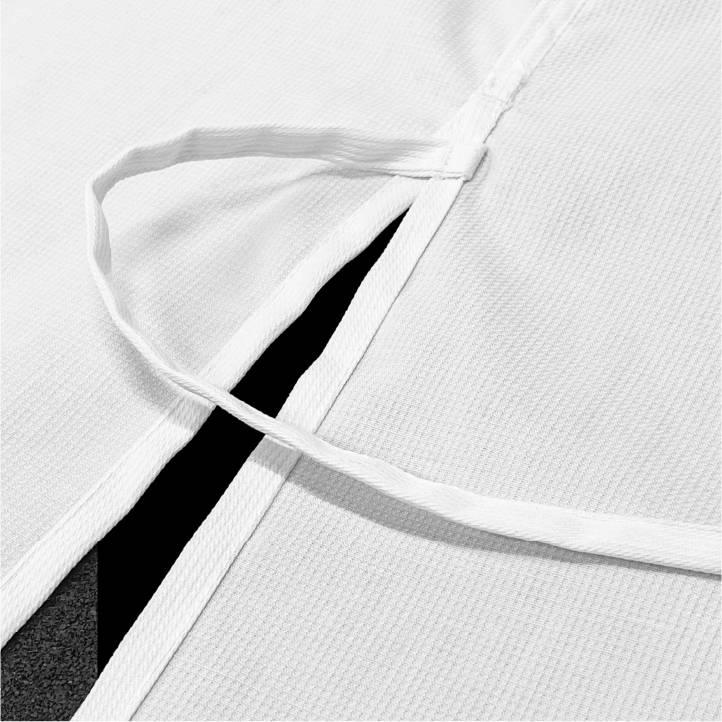 WKF Approved Karate Gi Student Senshi Jacket Ties
