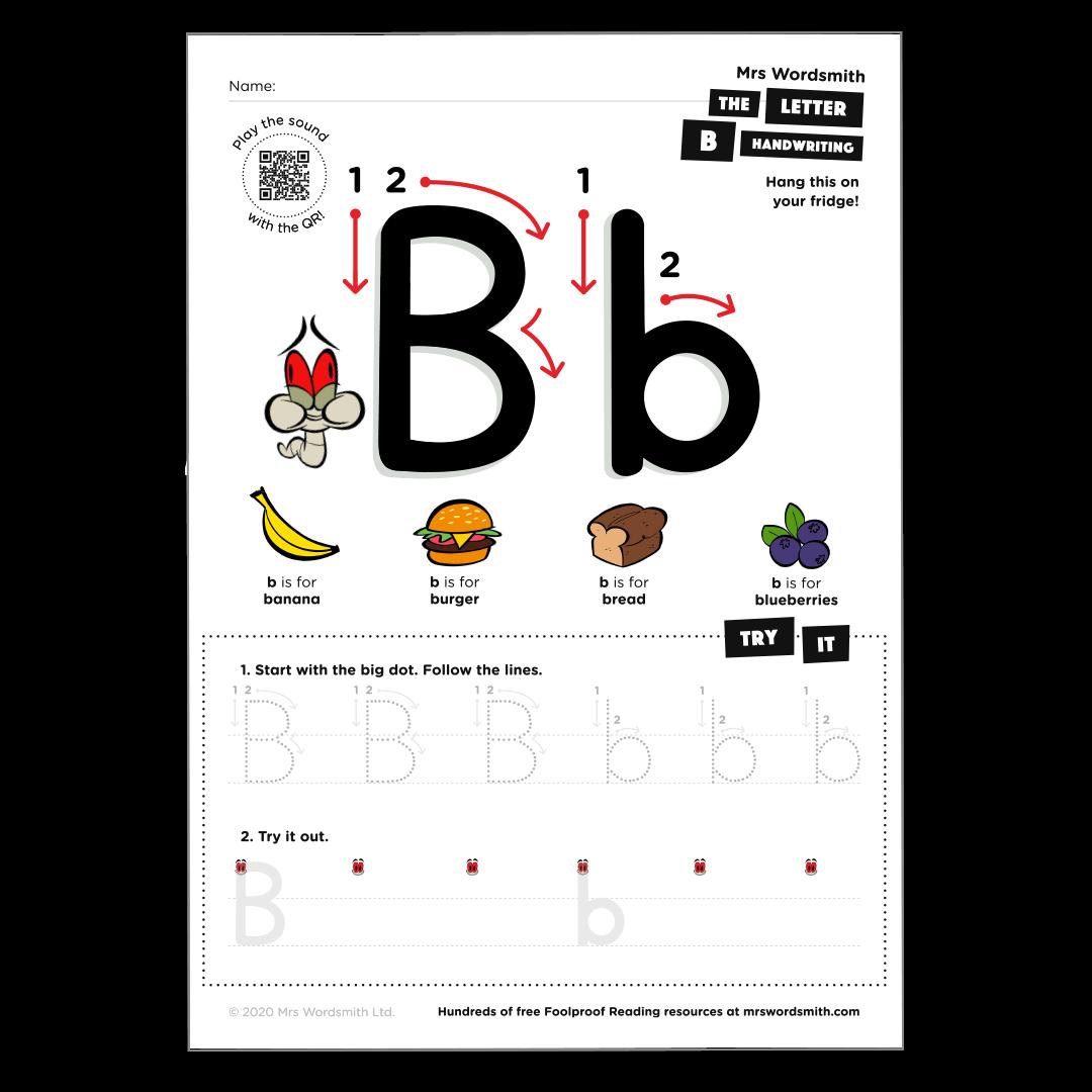 Letter b activity