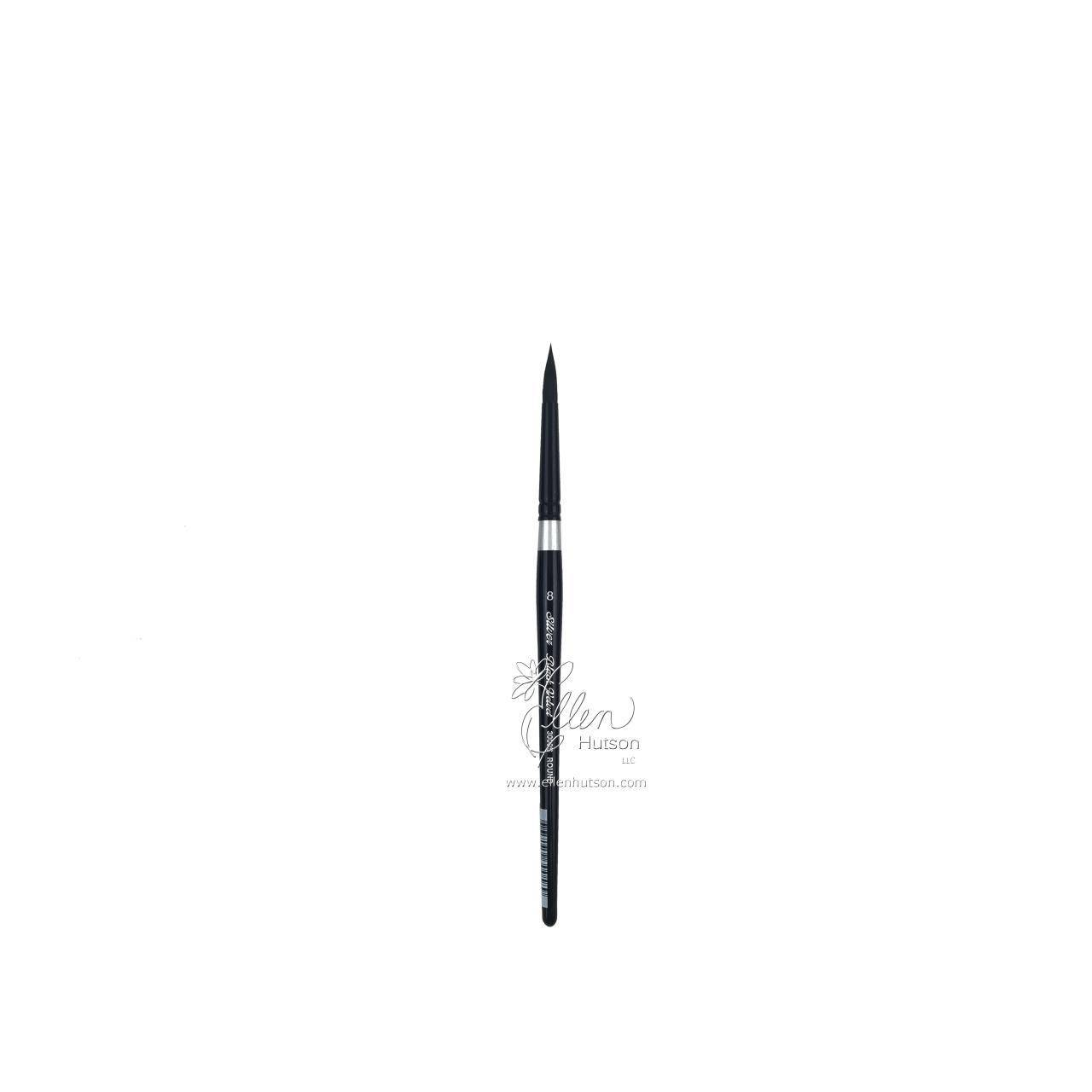 Black Velvet Brush Short Round 8