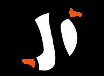 Goose logo brand - Ying and Goose