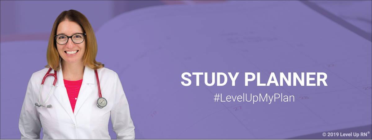 LevelUpRN Study Planner Banner