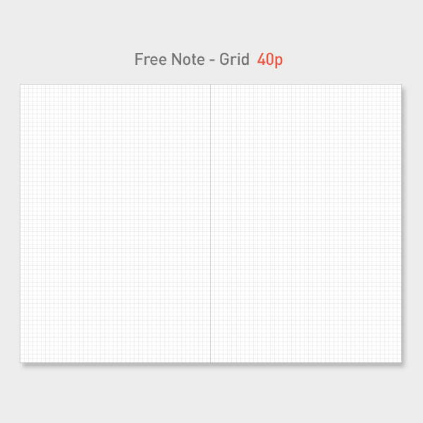 Free(grid) note - PAPERIAN 2020 I am doing what I love dated weekly planner