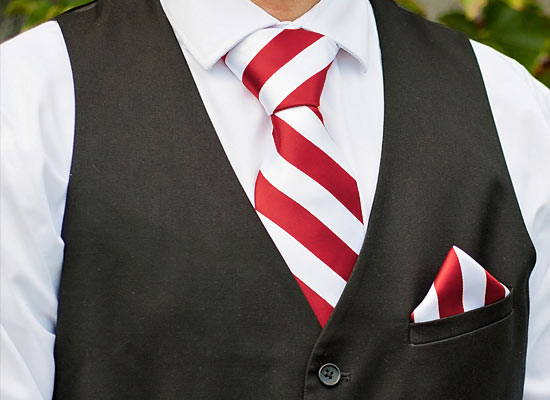Holiday Striped Ties